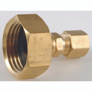 Anderson Metal 757422-1204 Adapter Brass 3/4Fhosex1/4Comp