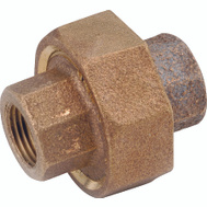 Anderson Metal 738104-06 3/8 Inch Brass Union