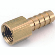 Anderson Metal 757002-0202 Insert Fitting 1/8Barbx1/8Fpt