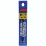 Artu 01014 Multi Purpose 3/16 By 3-1/2 Inch Colbalt & Tungsten Carbide Drill Bit