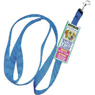 Petmate 15008 4 Foot By 5/8 Inch Nylon Blue Leash