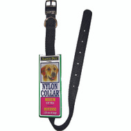 Petmate 15360 Collar Nylon 5/8 By 12 Inch Black