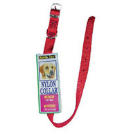 Petmate 15406 Collar Nylon 5/8 By 14 Inch Red