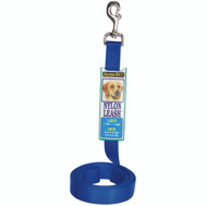 Petmate 20008 Lead Nylon 1 Inch By 4 Foot Single Blue