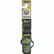 Petmate 0320070 Americas Legacy 1 By 16 To 26 Inch Army Green Camo Collar