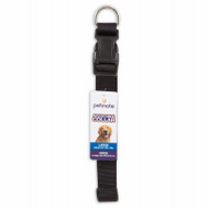 Petmate 20810 Collar Nylon Black Adjustable 18 To 26 Inch