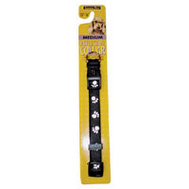 Petmate 27878 5/8 By 10 16 Reflective Paw Collar Black