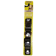 Petmate 27880 1 Inch By 16 26 Reflective Paw Collar Bk