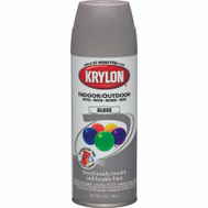 Krylon 51606 Colormaster Pewter Gray Gloss Spray Paint