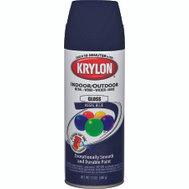Krylon 51901 Colormaster Regal Blue Gloss Spray Paint