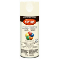 Krylon K05516007 COLORmaxx Spray Paint Gloss Dover White 12 Ounce