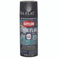 Krylon 4292 Camouflage Brown Flat Camo Spray Paint 11 Ounce