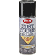 Krylon RTA9218 Rust Tough Black Flat Spray Paint 12 Ounce
