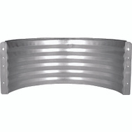 Marshall Stamping AWR18/682 18 Inch Standard Area Wall Galvanized