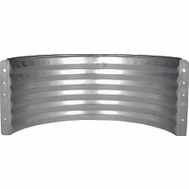 Marshall Stamping AWR24/683 24 Inch Standard Area Wall Galvanized
