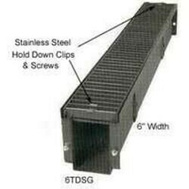 Marshall Stamping 6TDSG4 Trench Drain Steel Grate 6X4
