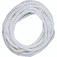 Lehigh Group 15264/38146 Dock Line 3/8X25 Nylon White