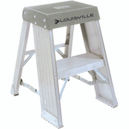 Louisville Ladder AY8002 Industrial Aluminum Step Stand 2 Foot