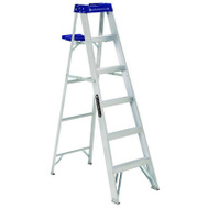 Louisville Ladder AS2104 Aluminum Step Ladder 4 Foot Type I