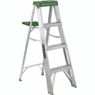 Louisville Ladder AS4004 4 Foot Aluminum Commercial Stepladder