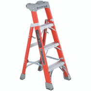 Louisville Ladder FXS1504 4 Foot 2N1 Cross Stepladder