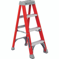 Louisville Ladder FS1504 4 Foot Fiberglass 1A Stepladder