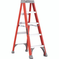 Louisville Ladder FS1505 Fiberglas Step Ladder 5 Foot Type Ia