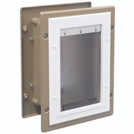Pet Safe HPA11-10918 Wall Entry Pet Door Small