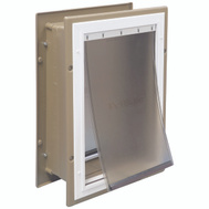 Pet Safe HPA11-10920 Wall Entry Pet Door Large
