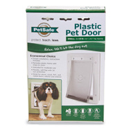 Pet Safe PPA00-10958 Door Pet White Small