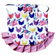 My Favorite Chicken HSCHICKENS PNK Hen Apron Jacket