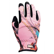 Big Time Products 9806-26 Camo Synthetic Leather Palm Padded Gloves Large Womens