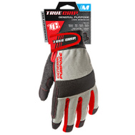 Big Time Products 9812-23 Synthetic Leather Palm Padded Gloves Medium