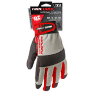 Big Time Products 9814-23 Synthetic Leather Palm Padded Gloves Extra-Large