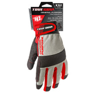 Big Time Products 9815-23 Synthetic Leather Palm Padded Gloves Jumbo