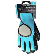 Big Time Products 9873-23 Signature Pro Synthetic Leather And Mesh Gloves Large Womens