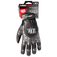 Big Time Products 9898-23 Black And Gray Synthetic Leather Palm Extreme Work Gloves Extra-Large