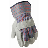 Big Time Products TB635ET2 Leather Palm Gloves Large 2 Pack