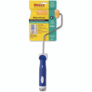 Whizz 34164 Whizzflock 4 Inch Flocked Foam Covered End Roller With Handle