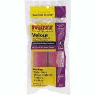 Whizz 51016 Velour 9 Inch Mohair Blend Roller Covers 2 Pack