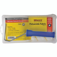 Whizz 54118 Maximus 4 Inch 1/2 Inch Gold Stripe Covered End Roller & Tray Set