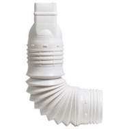 Amerimax ADP53229 Downspout Adapter 2 By 3 Inch White
