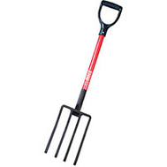 Bully Tools 92370 Spading Fork Hd D-Grip Fbglhdl