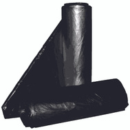 Aluf Plastics RL-2423H 7 To 10 Gallon Commercial Can Liners - T-Tough Roll Pack - Low Density