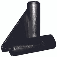 Aluf Plastics RCT-33 33 Gallon Commercial Can Liners - T-Tough Roll Pack - Low Density