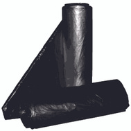Aluf Plastics RCT-33X 33 Gallon Commercial Can Liners - T-Tough Roll Pack - Low Density