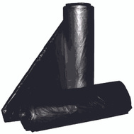 Aluf Plastics RCT-60 55 To 60 Gallon Commercial Can Liners - T-Tough Roll Pack - Low Density