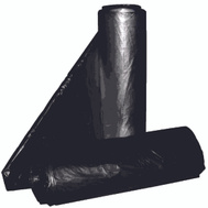 Aluf Plastics RCT-45 45 Gallon Commercial Can Liners - T-Tough Roll Pack - Low Density