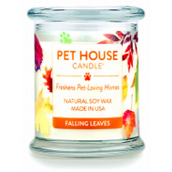American Distribution 40965 8.5 Ounce Falling Leaves Candle