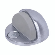 Tell DT100033 Door Stop Floor Low Dome Brass